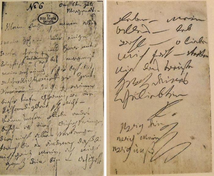 Письмо Бетховен – Бессмертной возлюбленной. \ Фото: danielle-daniellesweets.blogspot.com.