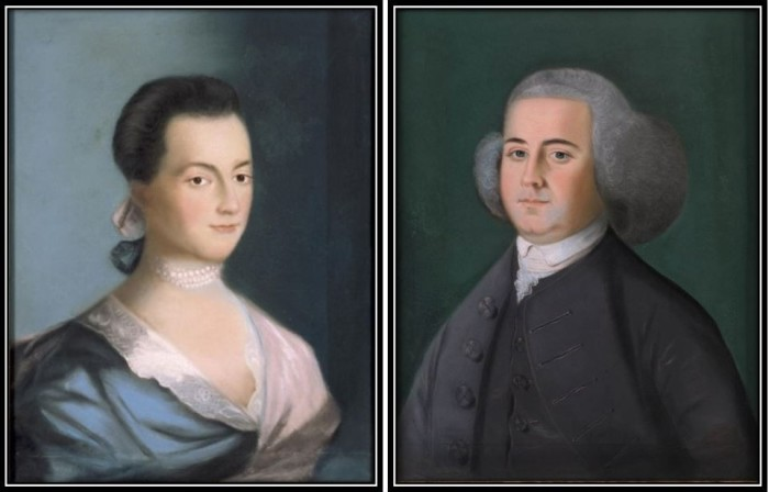 Слева: Абигейл Адамс. \ Справа: Джон Адамс. \ Фото: fastcompany.com.