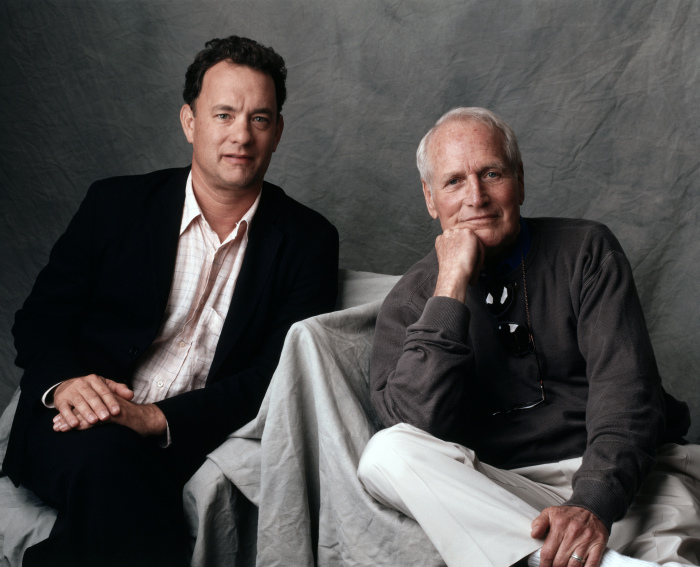 Пол Ньюман и Том Хэнкс. \ Фото: filmz.ru.