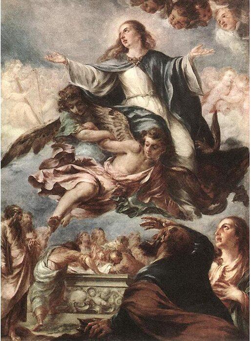 Успение Пресвятой Богородицы, Хуан де Вальдес Леаль. \ Фото: amazon.com.