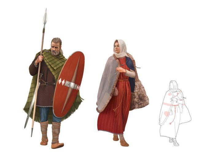 Рконструкция: Изображение жизни кельтов с Кернштрассе в Цюрихе в соответствии с текущим уровнем знаний (археология AfS / Сибилла Хойссер, иллюстрация Oculus). \ Фото: stadt-zuerich.ch.