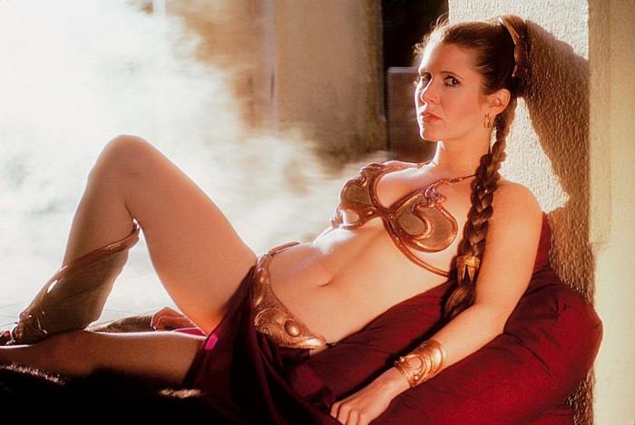 Легендарный наряд принцессы Леи. | Фото: theguardian.com.