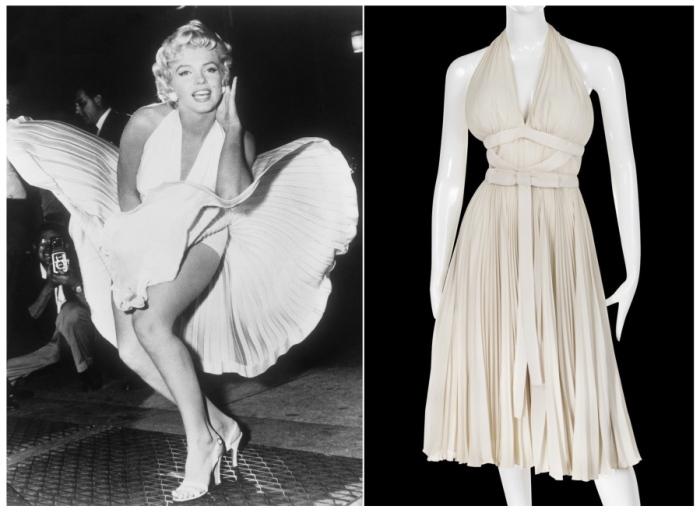 Культовое белое платье Мэрилин Монро. | Фото: latimesblogs.latimes.com.