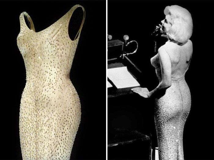 Легендарное платье Мэрилин Монро. | Фото: google.ru.