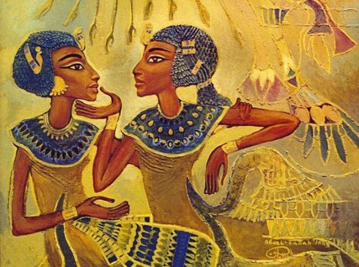 Разговор двух сестёр. Автор: Fattah Hallah Abdel.