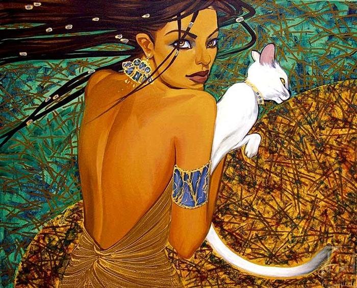 Девушка-лето. Автор: Fattah Hallah Abdel.