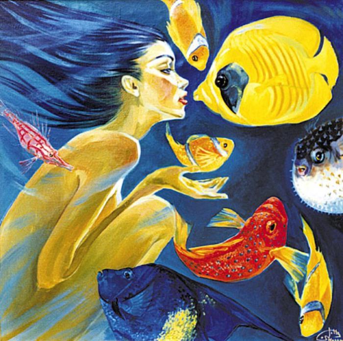 Дары моря. Автор: Fattah Hallah Abdel.