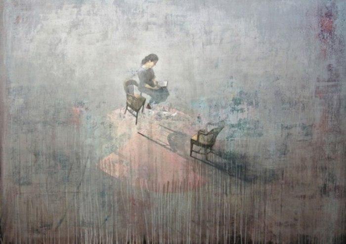 Одиночество в работах Федерико Инфанте (Federico Infante).