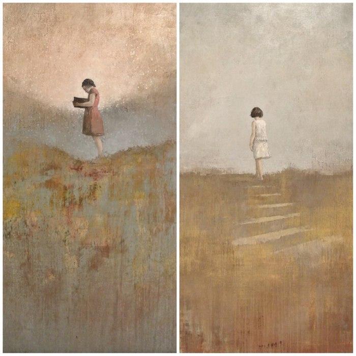 В память о мечтах и дорога в неизвестность... Автор работ: Федерико Инфанте (Federico Infante).
