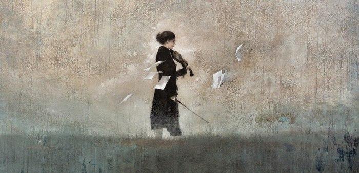 Одинокая мелодия. или не тревожь мне душу скрипка. Автор работ: Федерико Инфанте (Federico Infante).