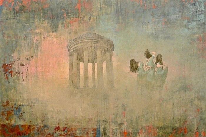 Призрачные образы в работах Федерико Инфанте (Federico Infante).