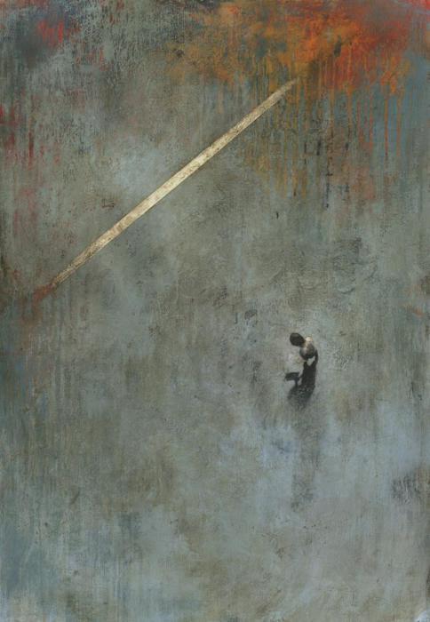 Одинокая фигура. Автор работ: Федерико Инфанте (Federico Infante).