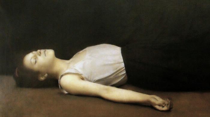 Жертва или Задохнувшаяся, 1886 год (фрагмент), Музей искусства и археологии, Санлис. Автор: Fernand Pelez.