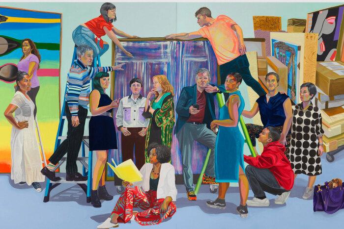 Сотрудники галереи Антона Керна, Ализа Нисенбаум, 2019 год. \ Фото: antonkerngallery.com.