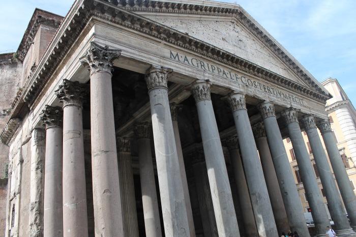 Пантеон, Рим. \ Фото: keralapool.com.