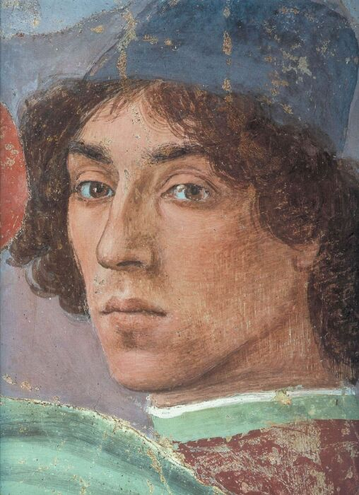 Автопортрет Филиппино Липпи, 1481 год. \ Фото: wordpress.com.