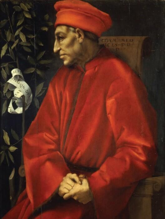 Портрет Козимо Медичи, 1518-1520 гг. \ Фото: link.springer.com.