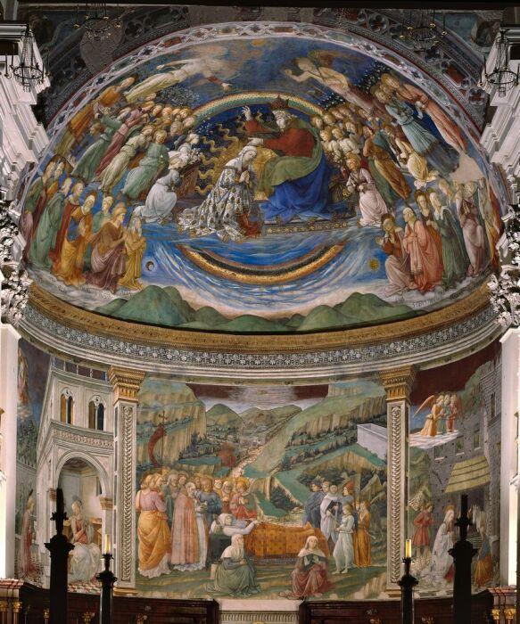 Сцены из жизни Девы Марии, Филиппо Липпи, 1469 год. \ Фото: pinterest.com.
