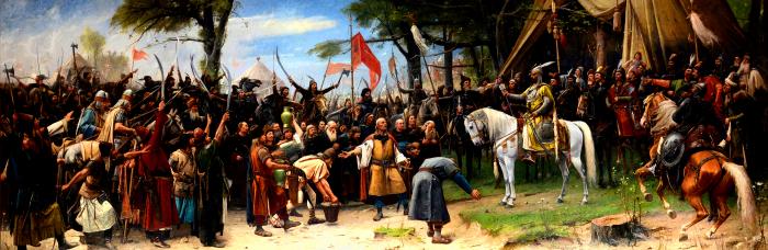 Завоевание, 1893 год, Михай Мункачи. \ Фото: wikimedia.org.