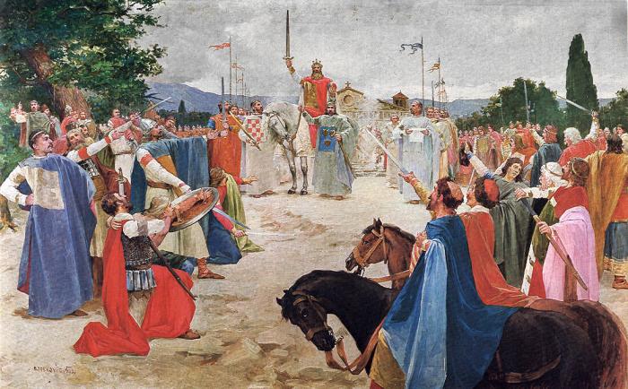 Коронация короля Томислава, Отон Ивекович. \ Фото: akademija-art.hr.