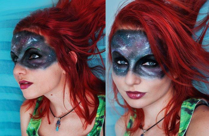 Галактический макияж. Автор: Florea Flavia.