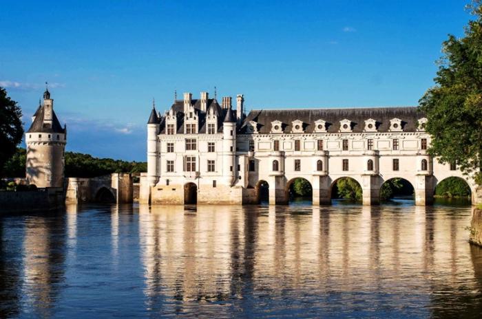 Замок Шенонсо «Дамский дворец», Франция.