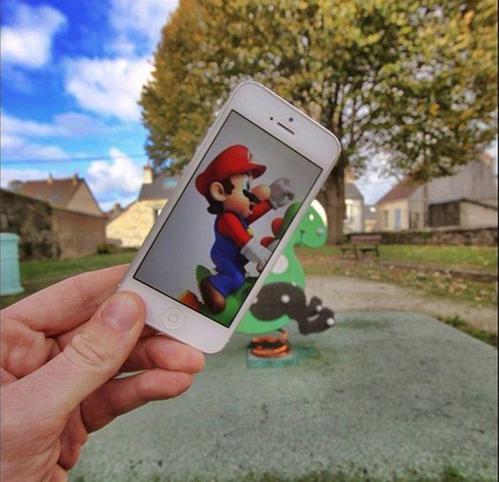 Супер Марио. Автор: Francois Dourlen.
