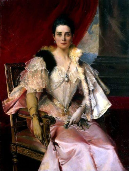 Портрет княгини З. Н. Юсуповой. Автор: Francois Flameng.