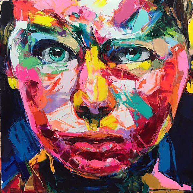 Буйство красок и цветов. Автор картин: Франсуаза Нилли (Francoise Nielly).