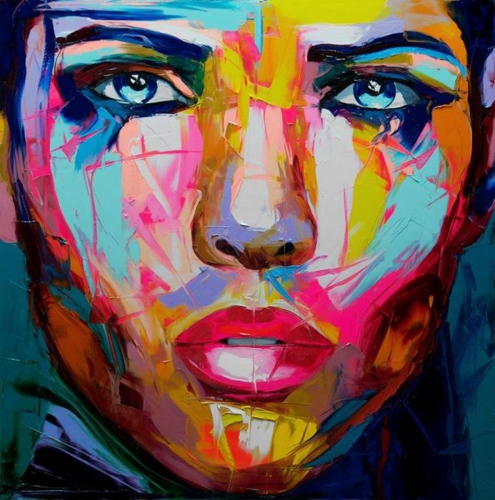 Она молчит. Автор: Francoise Nielly.
