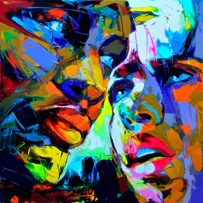 Их лица. Автор: Francoise Nielly.