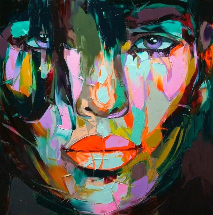 Её глаза. Автор: Francoise Nielly.