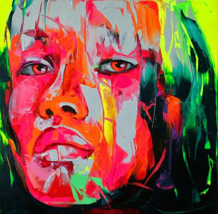 Портрет девушки. Автор: Francoise Nielly.