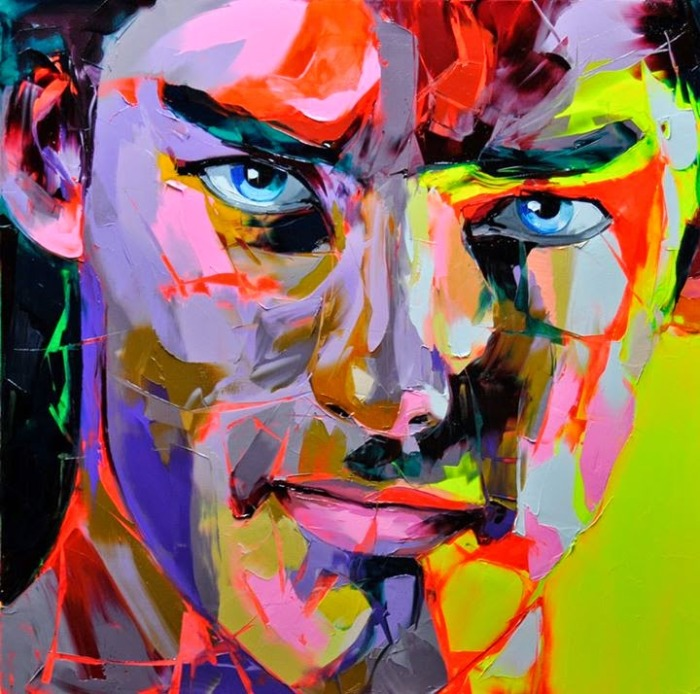Портрет мужчины. Автор: Francoise Nielly.