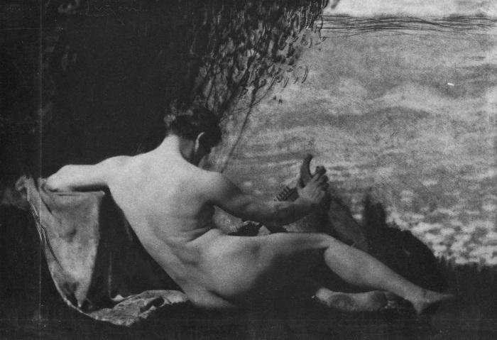 Обнажённая женщина. Автор: Frank Eugene.