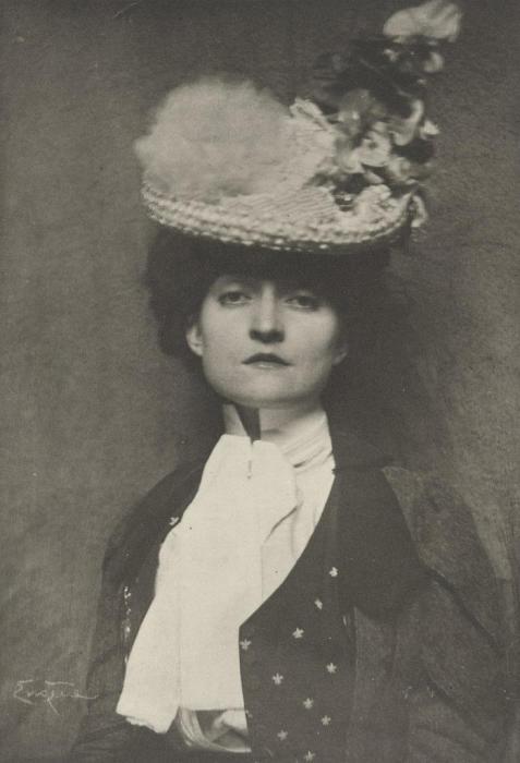 Портрет Мисс Джонс, 1899 год. Автор: Frank Eugene.