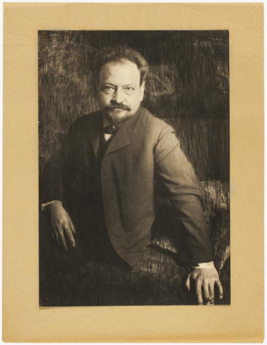 Портрет Гетц, 1900 год. Автор: Frank Eugene.
