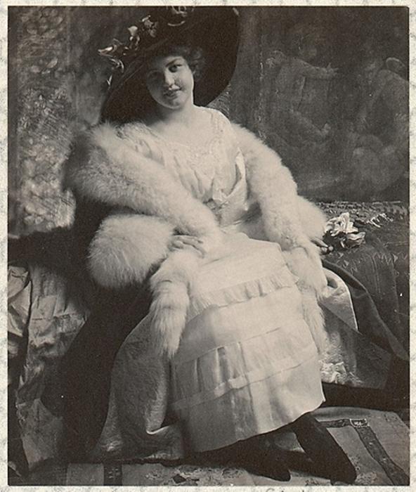 Долли Варден, 1900 год. Автор: Frank Eugene.