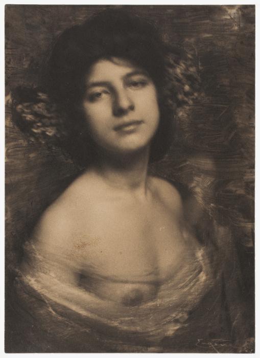 Гортензия, 1898 год. Автор: Frank Eugene.