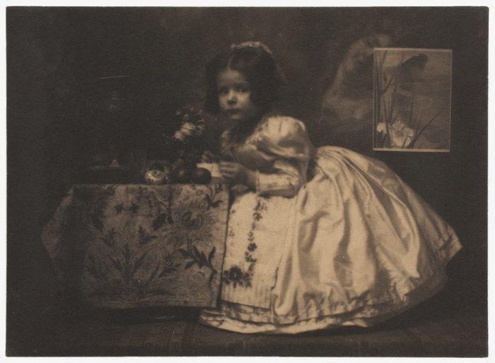 Бриджитта, 1906 год. Автор: Frank Eugene.