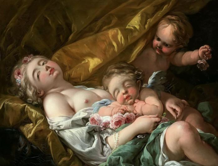 Венера и пугги. Автор: Francois Boucher.