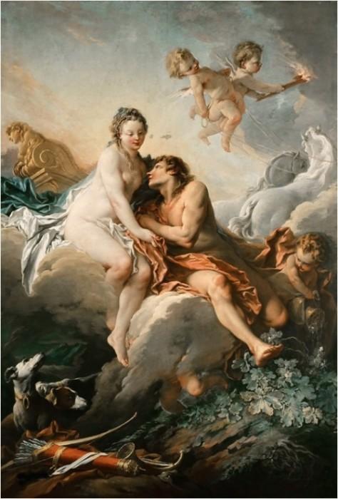 Аврора и Кефал. Автор: Francois Boucher.
