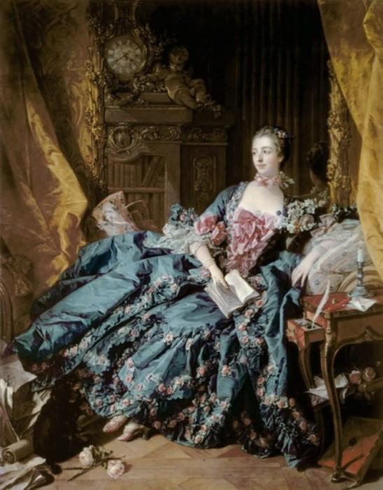 Мадам де Помпадур. Автор: Francois Boucher.