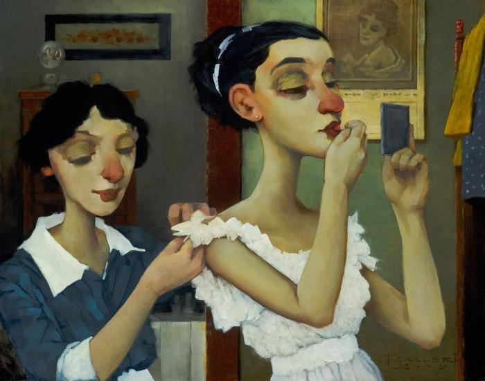 Ностальгические образы и романтический гротекс  на красочных визуализациях, которые переносят в начало XX века