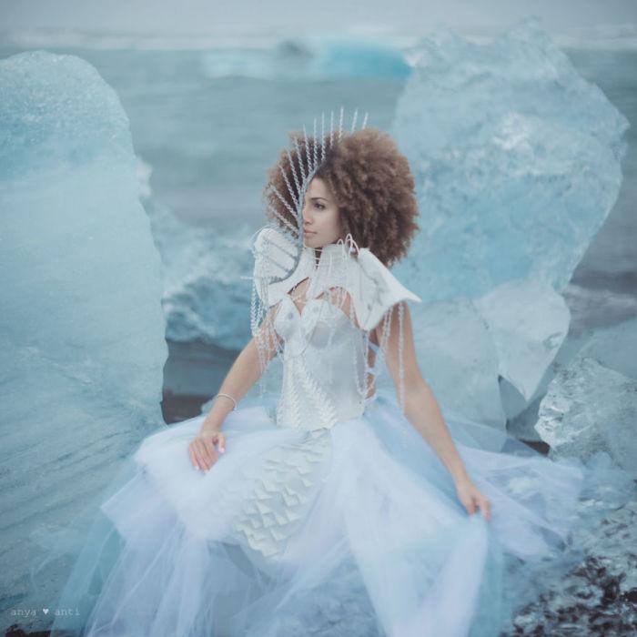 Сущность жизни - таяние льдов. Автор: Anya Anti.