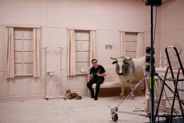 Съёмочный процесс. Автор: Frieke Janssens.