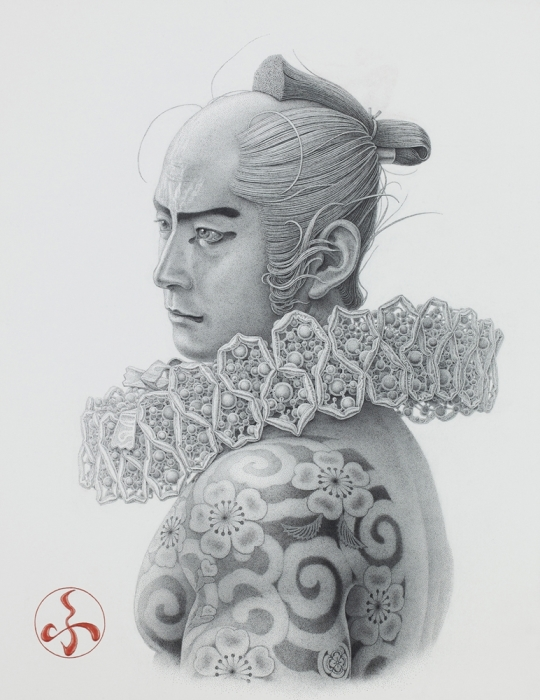 Самурай, 2017 год. Автор: Futaro Mitsuki.
