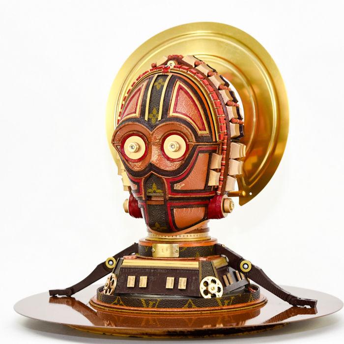 C-3PO — один из немногих персонажей, появлявшихся во всех восьми фильмах Звёздных войн. Автор: Gabriel Dishaw.