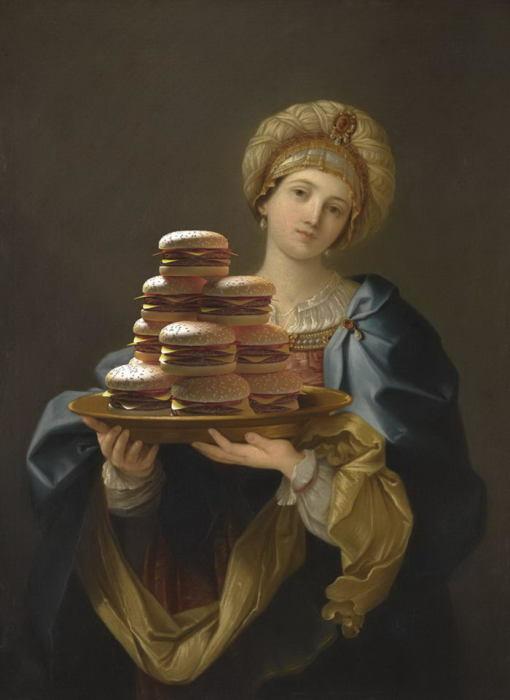 Дюжина сочных гамбургеров. Автор: Gabriel Nardelli Araujo.