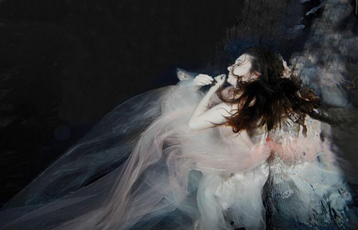 Подводные портреты девушек. Автор: Gabriele Viertel.